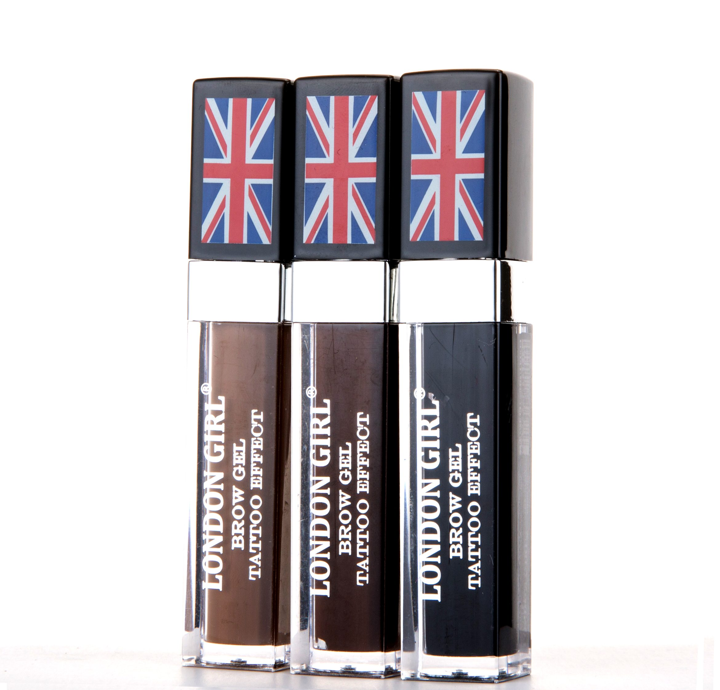 London Girl Brow Gel Tattoo Effect 3 Shades Available Mirage