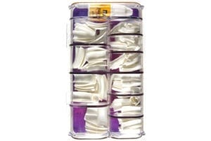 N Salon 200 Nail Tips - White (1pc)