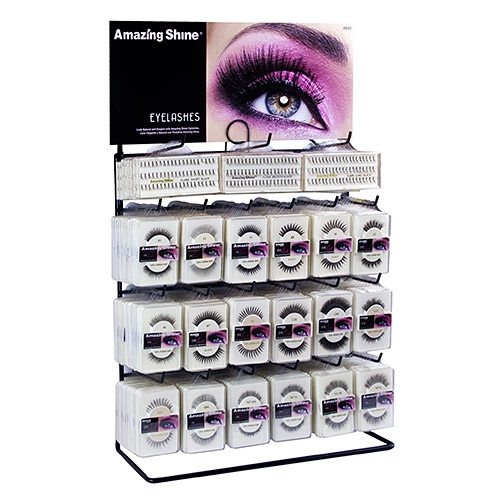 Amazing Shine Regular Eyelash Display - 21 styles (243 pieces)
