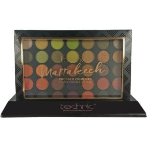 Technic Pressed Pigment Palette - Marrakech (6pc)