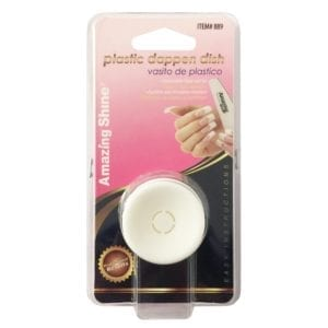 Amazing Shine Plastic Dappen Dish (1pc)