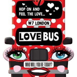 W7 Love Bus Makeup Collection (6pc)