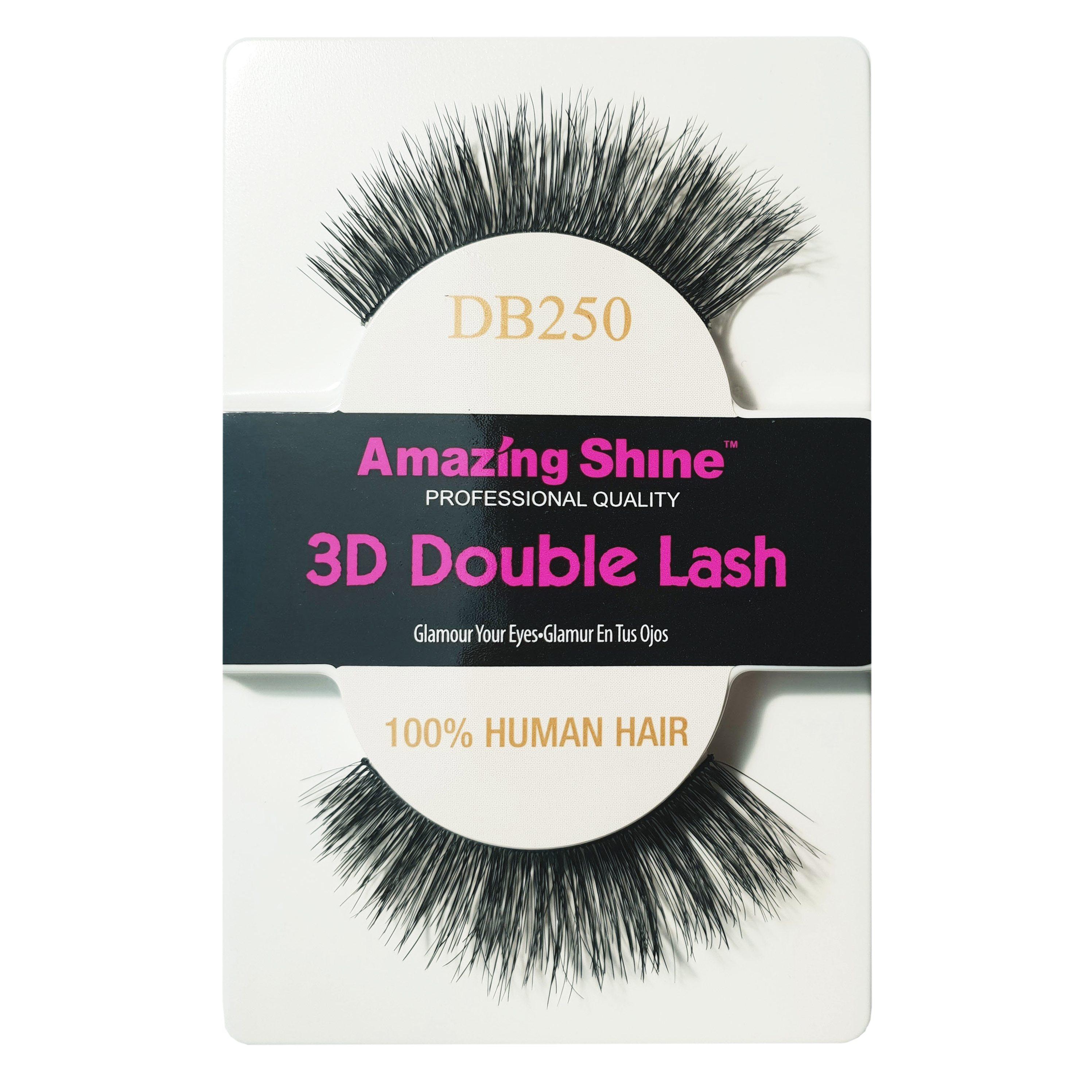 2a833d791d9 Amazing Shine Human Hair 3D Double Eyelashes