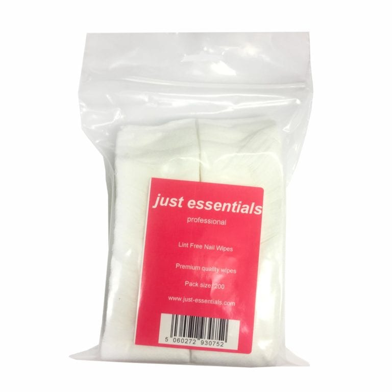 Just Essentials Professional Lint Free Wipes (200 Pack)