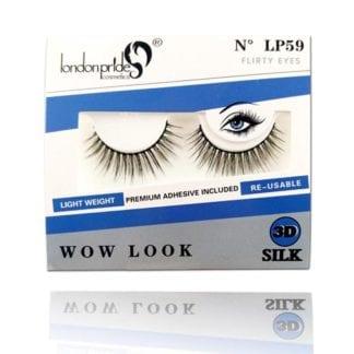London Pride 3D Silk Wow Look Eyelash (LP59) (6pc)