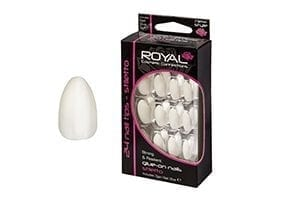 Royal Cosmetics – 24 Stilletto Nail Tips with 3g Glue (NNAI189) (6pcs)