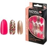 Royal 24 Wild Passion Almond Nail Tips with 3g Glue (NNAI260) (6pcs)