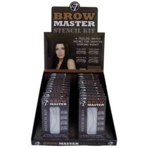 W7 Brow Master Stencil Kit (24pcs)