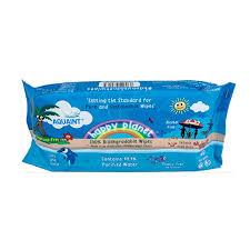 Aquaint 100% Biodegradable Wipes (60's) (1pc)
