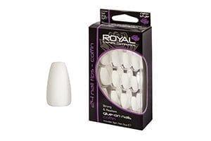 Royal Cosmetics – 24 Coffin Nail Tips with 3g Glue (NNAI190) (6pcs)
