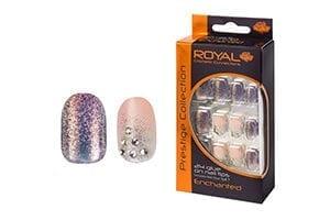 Royal 24 Enchanted Nail Tips with 3g Glue (NNAI249) (6pcs)