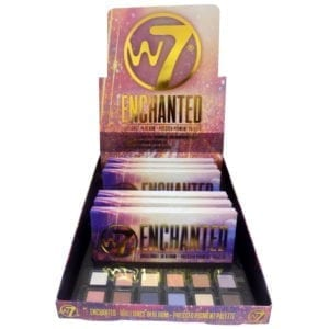 W7 Enchanted Pressed Pigment Palette (6pc)