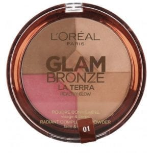 Loreal Glam Bronze Pressed Powder (2 Shades Available) (1pc)