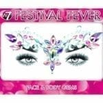 W7 Festival Fever Face & Body Gems (12pcs) (6 Varieties Available)
