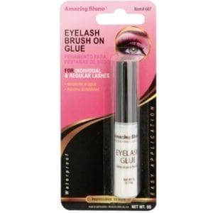 Amazing Shine Brush On Lash Glue - Clear