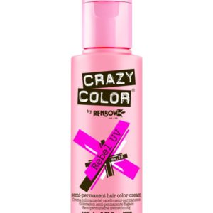 Crazy Color Semi Permanent Hair Dye 100ml 4pc 40 Shades