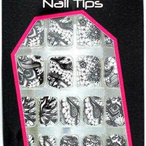 Royal 24 City Chic Petite Pre-Glued Nail Tips 6pcs
