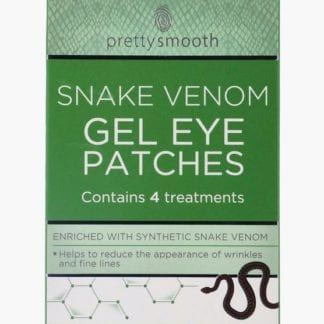 Pretty Smooth Gel Eye Patches – Snake Venom (12pc)