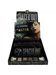 W7 Spaced Out Galactic Glimmers Eye Contour Palette (6pcs)