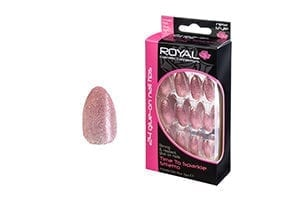 Royal 24 Time to Sparkle Nail Tips with 3g Glue (6pcs) (NNAI244)
