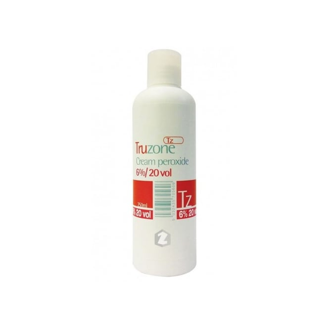 Truzone Cream Peroxide 20 vol 6% 250ml (1pc)
