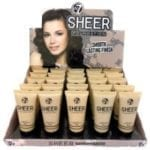 W7 Sheer Foundation (25pc)